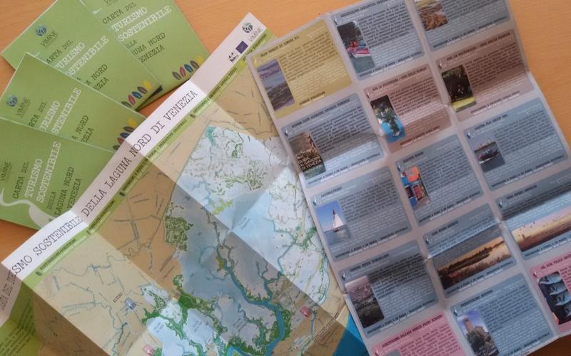 Karte Fur Nachhaltigen Tourismus Der Nordlichen Lagune Von Venedig