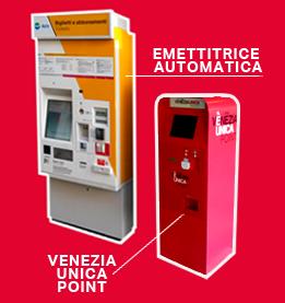 Self-service ticket machines | VeneziaUnica City Pass